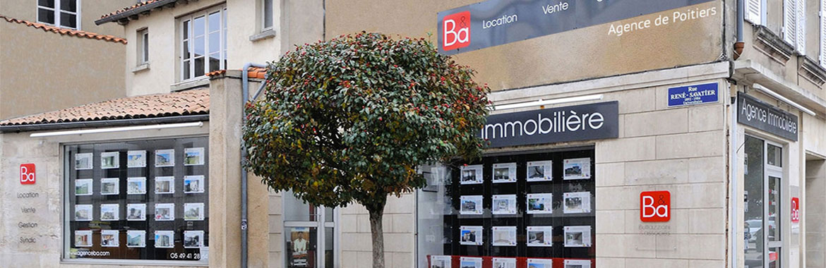 Agence immobili re b a poitiers et ch tellerault for Agence immobiliere poitiers